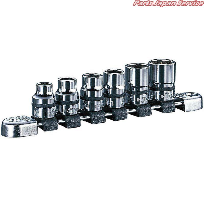 12.7sqソケットセット(6コ組) NTB406A 京都機械工具 KTC