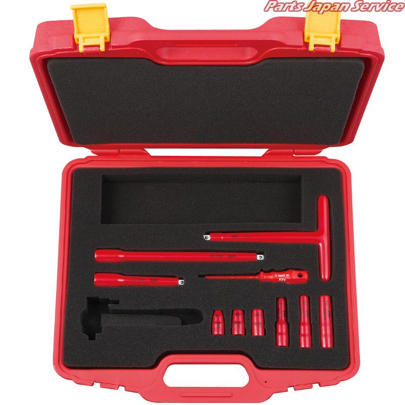 絶縁工具セットC ZTB310A 京都機械工具 KTC
