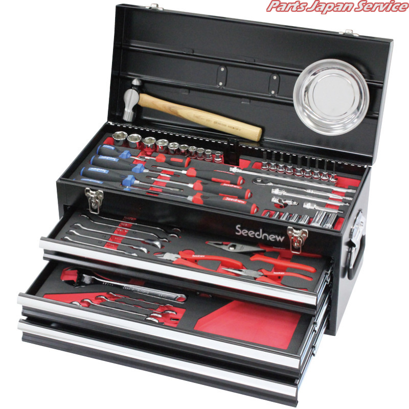 70PC 9.5角工具セット 黒 S-70313BL ヤマト SEEDNEW