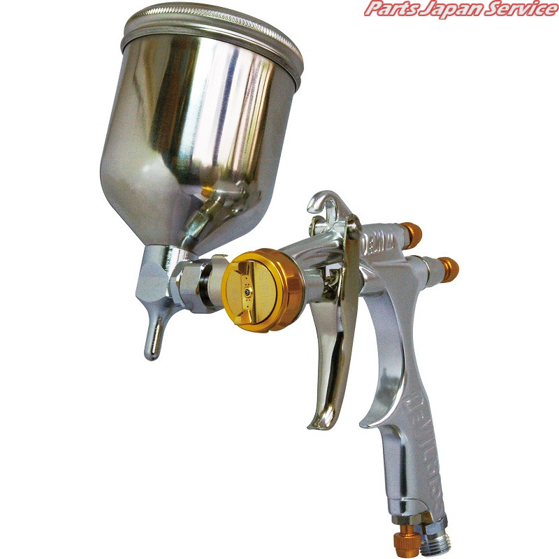 重力式小型スプレーガンカップセット DEMI2-DL8-1.1-G150FA CFTランズバーグインダストリー DeVilbiss