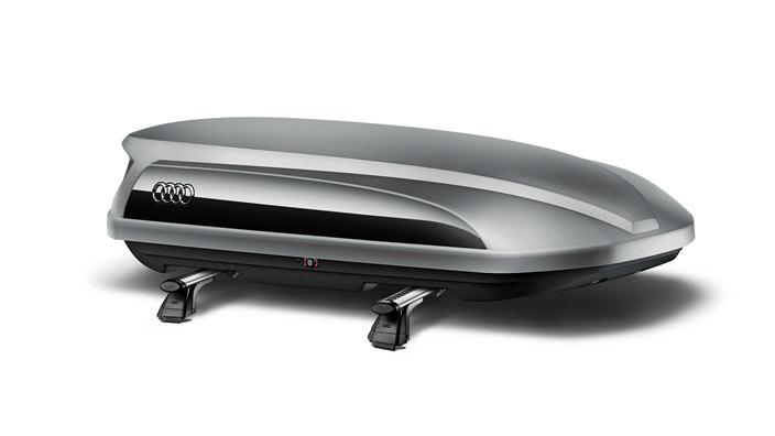 AUDI / アウディ 純正 アクセサリースキー&ラゲッジボックス(360リッタータイプ)コンビカラー送料240サイズ