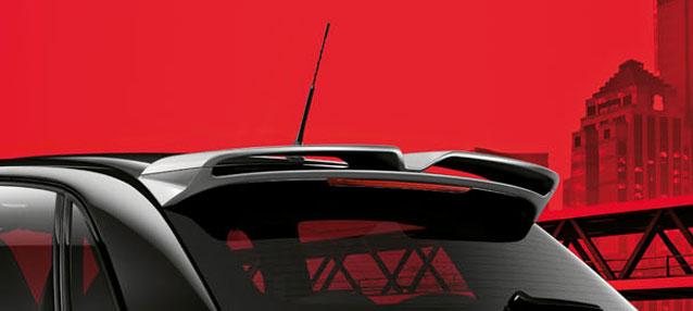 AUDI / アウディ純正A1(8X)ルーフスポイラーA1 Sportback用送料サイズ140