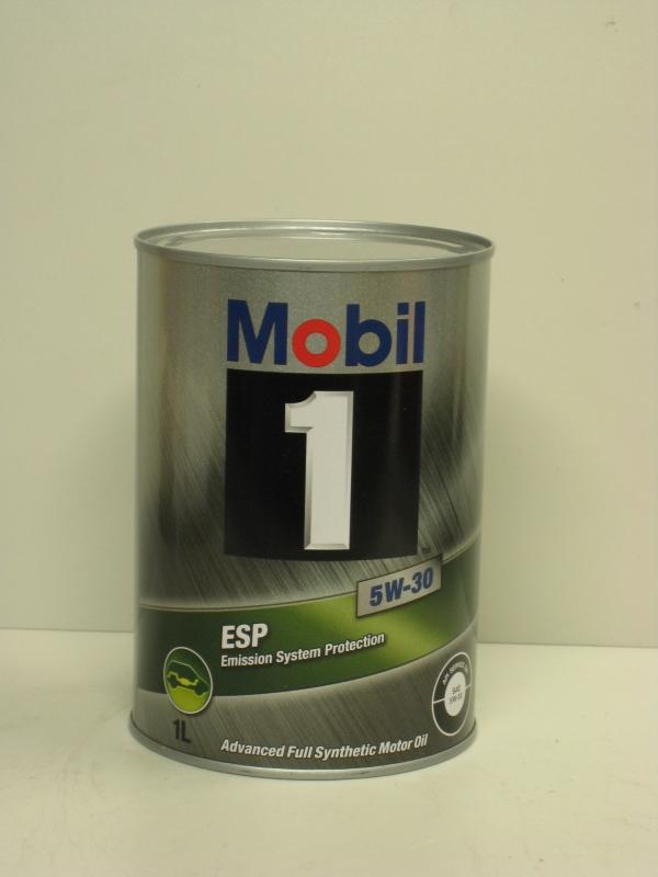 Mobil1 モービル1 エンジンオイルMobil ESP 5W-30 / 5W30 1L缶(1リットル缶) 12本セット送料60サイズ