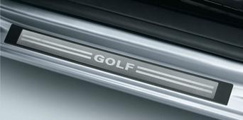 Volkswagen / フォルクスワーゲン / VW純正アクセサリースカッフプレート(GOLFロゴ入)GOLF6/ゴルフ6送料60サイズ