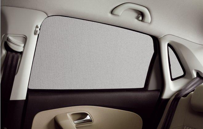 Volkswagen / フォルクスワーゲン / VW純正アクセサリーサンブラインドセットPOLO(6R)/ポロ送料60サイズ