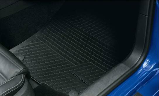 大众汽车公司和大众汽车 / 大众纯正的配件橡胶垫/接待 SCIROCCO 和 Scirocco 航运 60 大小