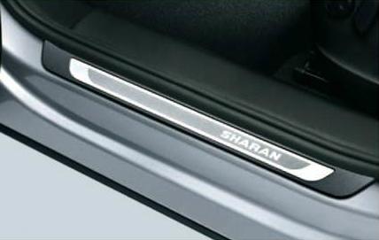 Volkswagen / フォルクスワーゲン / VW純正アクセサリードアシルプレート(ステンレス)SHARAN/シャラン用送料サイズ80