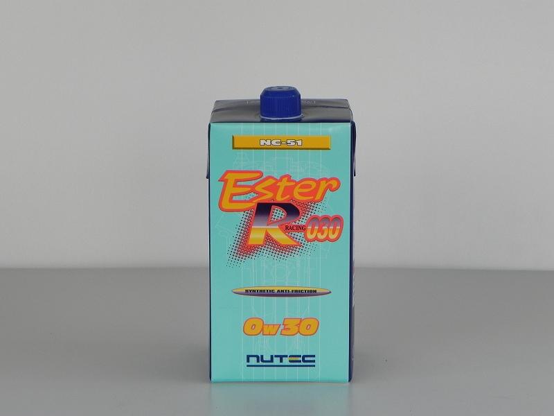 NUTEC(ニューテック) ESTER RACINGシリーズ(NC-51)化学合成(エステル系) 0W-30 / 0W30 1L(1リットル) 15本セットエンジンオイル送料80サイズ