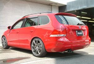 einsatz(アインザッツ) s622マフラーVolkswagen GOLF5ヴァリアント 2.0TSI スポーツラインテール:Type1(真円カールタイプ)送料160サイズ