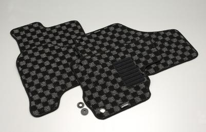 COX (コックス) オリジナルフロアマットボタン固定タイプVolkswagen / フォルクスワーゲン GOLF6/ゴルフ6、GOLF5/ゴルフ5、シロッコ、ジェッタ用送料サイズ140