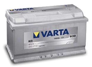 VARTA SILVER-DYNAMIC 100Ahシルバーダイナミックバッテリー600-402-083送料80サイズ