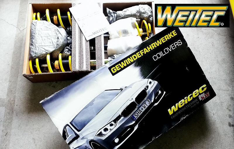 ST SUSPENSIONS(WEITEC/ヴァイテック)車高調整式サスペンション(減衰力固定)ST XVW GOLF6 GTI送料80サイズ