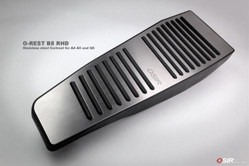 OSIRフットレストカバーfor A4 / A5 / Q5 (B8)(O-REST B8) RHD右ハンドル用 送料100サイズ