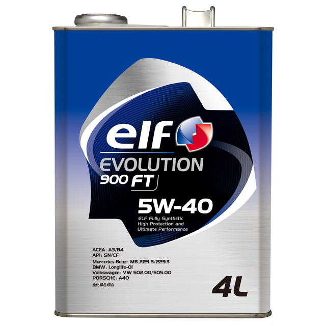 メイルオーダー elf エルフ エンジンオイルEVOLUTION 900 買物 4Lx6本送料60サイズ FT5W40 5W-40