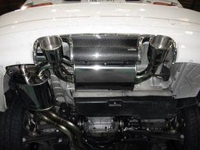 ARQRAY(アーキュレー) ステンレスマフラーBMW E46M3用 オーバルタイプ送料60サイズ