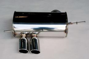 ARQRAY(アーキュレー) ステンレスマフラーBMW E82 120i カブリオレ送料60サイズ