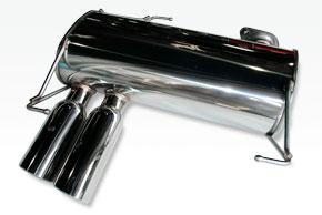 ARQRAY(アーキュレー) ステンレスマフラーBMW E92 320i クーペ標準バンパー、Mスポーツ共通送料60サイズ