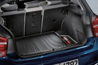 BMW純正アクセサリー1シリーズ(F20)ラゲージ・コンパートメント・マットブラック(Standard/Style)送料200サイズ