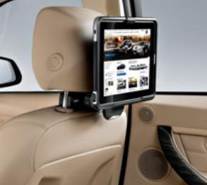 BMW純正アクセサリータブレット・ホルダーGALAXY Tab 3,4用(ご使用の際は別売りベース・キャリアが必要です)送料140サイズ