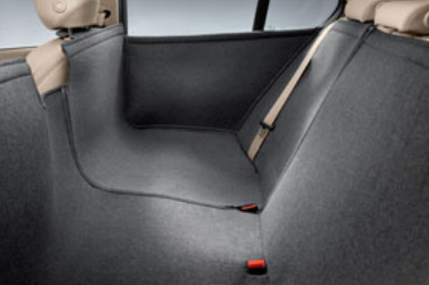 BMW純正アクセサリー3シリーズ(F30/F31)ユニバーサル・リヤ・シートカバー(サイドドアカバー付)送料160サイズ