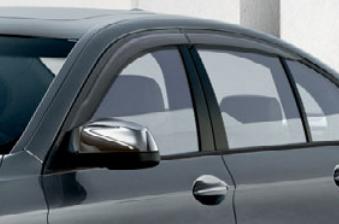 BMW純正アクセサリー5シリーズ セダン(F10)ドア・バイザー(モール無し)送料160サイズ