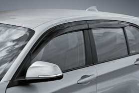 BMW純正アクセサリー3シリーズ(F30)ドア・バイザーセダン、M3用送料160サイズ