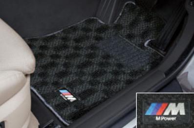 BMW純正アクセサリー5シリーズ(F10/F11)M フロア・マット・セット右ハンドル車用2013.7以降用送料160サイズ