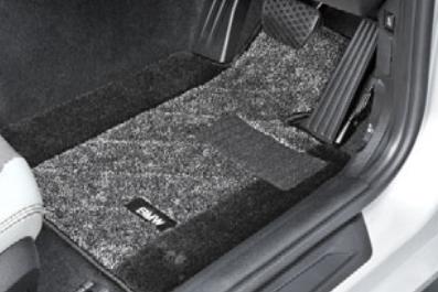BMW純正アクセサリー4シリーズ カブリオレ(F33)フロア・マット・セットサキソニー・ロイヤル(グレーアンドブラック)左ハンドル車用送料160サイズ