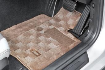BMW純正アクセサリー1シリーズ(F20)フロア・マット・セットシャギー(ベージュ)右ハンドル車用送料160サイズ