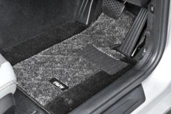 BMW純正アクセサリー1シリーズ(F20)フロア・マット・セットサキソニー・ロイヤル(グレー・アンド・ブラック)右ハンドル車用送料160サイズ