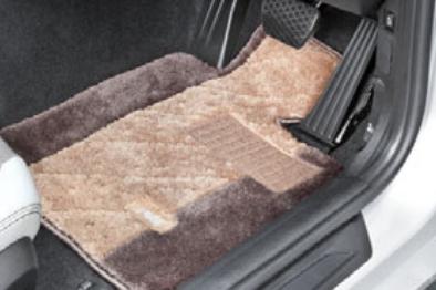 BMW純正アクセサリー3シリーズ(F30/F31)フロア・マット・セットサキソニー・ロイヤル(ベージュ/ブラウン)左ハンドル車用送料160サイズ