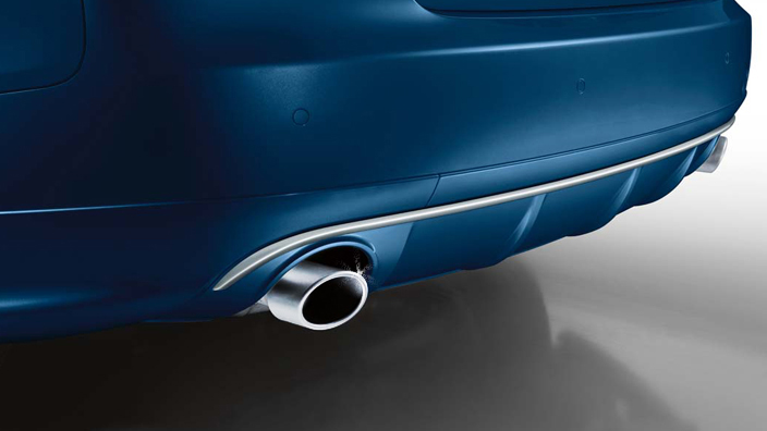 AUDI / Audi genuine accessories sports tailpipe finisher A4 (8 K) /A5 (8 T) for (except for some) shipping size 60.