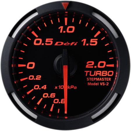 Defi/デフィ Racer Gauge/レーサーゲージターボ計 Φ52シリーズレッドレーサーゲージ 送料60サイズ