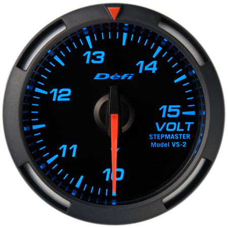 Defi/デフィ Racer Gauge/レーサーゲージ電圧計 Φ52シリーズブルーレーサーゲージ 送料60サイズ