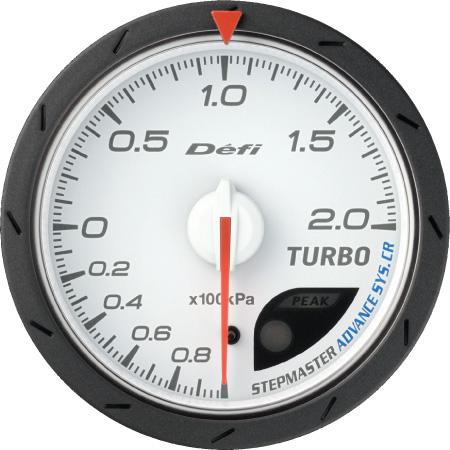 Defi/デフィ Link MeterADVANCE CR/アドバンスシーアールターボ計 200kPaモデルφ60/ホワイト板 送料60サイズ