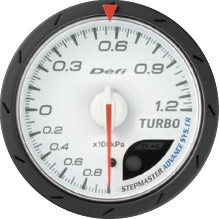 Defi/デフィ Link MeterADVANCE CR/アドバンスシーアールターボ計 120kPaモデルφ60/ホワイト板 送料60サイズ