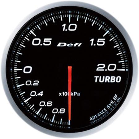 Defi/デフィ Link MeterADVANCE BF/アドバンスビーエフターボ計 200kPaモデルφ60/ホワイト 送料60サイズ