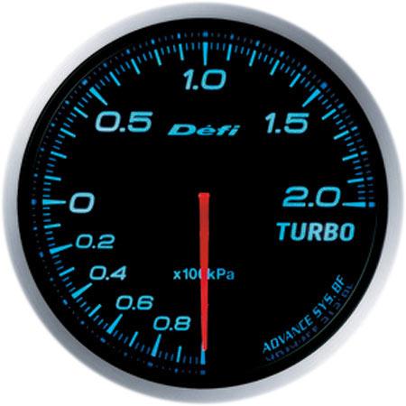 Defi/デフィ Link MeterADVANCE BF/アドバンスビーエフターボ計 200kPaモデルφ60/ブルー 送料60サイズ