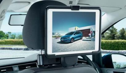 Volkswagen / フォルクスワーゲン / VW純正アクセサリーiPad Airホルダー(別途ベースモジュール要購入)GOLF7用送料80サイズ