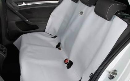 Volkswagen / フォルクスワーゲン / VW純正アクセサリーリアシートエプロンGOLF7/ゴルフ7送料60サイズ