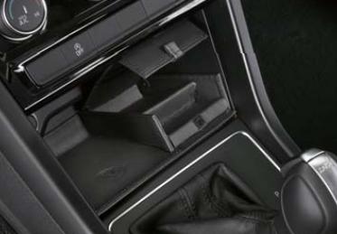 Volkswagen / フォルクスワーゲン / VW純正アクセサリー本革コイントレイGOLF TOURAN/ゴルフ トゥーラン送料60サイズ