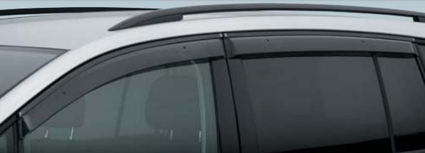Volkswagen / フォルクスワーゲン / VW純正アクセサリーサイドバイザーGOLF TOURAN/ゴルフ トゥーランTrendline/Comfortline用送料100サイズ