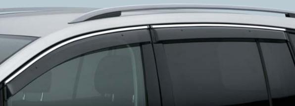 Volkswagen / フォルクスワーゲン / VW純正アクセサリーサイドバイザーGOLF TOURAN/ゴルフ トゥーランHighline用送料100サイズ