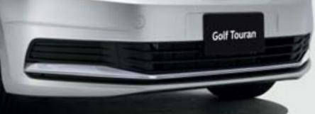 Volkswagen / フォルクスワーゲン / VW純正アクセサリーロアガーニッシュGOLF TOURAN/ゴルフ トゥーラン送料100サイズ