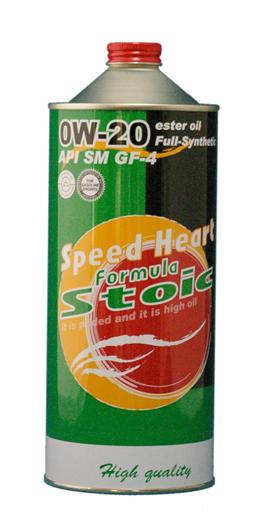Speed Heart/スピードハートエンジンオイルフォーミュラストイック 0W20/0W-201Lx6本送料無料