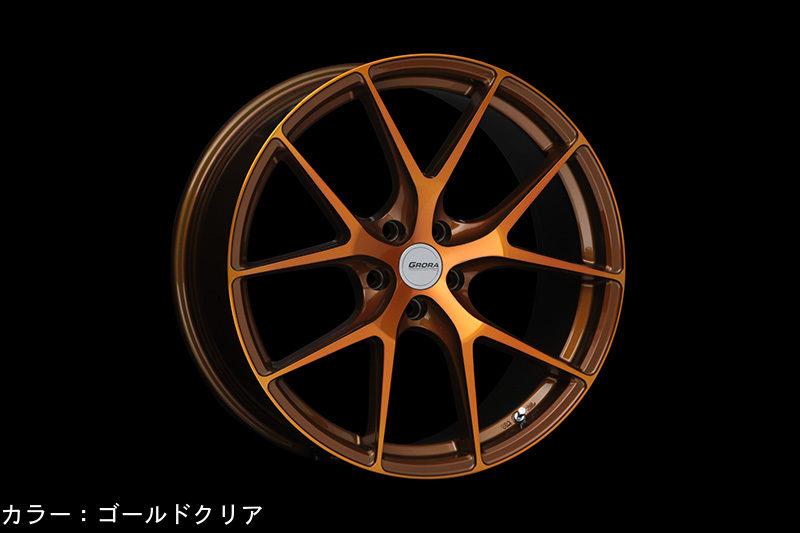ERST WHEELS / East wheel GRORA GS15V size:8.5Jx19 inches four sets and one for AUDI/VW/Mercedes Benz shipping 160 size