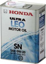 HONDA/ホンダ純正エンジンオイルウルトラ LEO SN 0W20/0W-2020Lペール缶 送料80サイズ