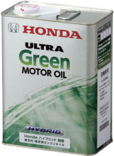 HONDA/ホンダ純正エンジンオイルウルトラ グリーン4L缶x6本セット 送料100サイズ