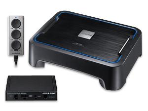 ALPINE/アルパインパワード・サブウーファーBass Sound機能で車室内音響を最適にSWE-1500 送料160サイズ
