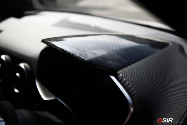 OSIRDash Top TT Mk3カーボンダッシュトップカバー for TT/TTS(8S)送料100サイズ